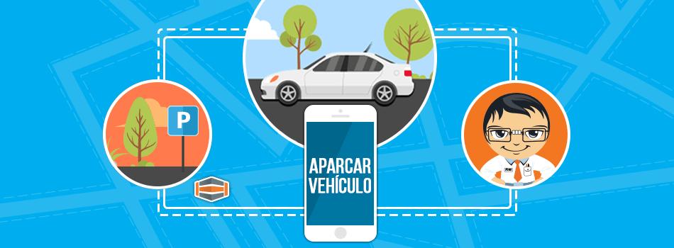 Aparca tu vehículo usando tu Smartphone