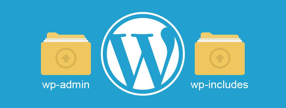 Volver a cargar las carpetas wp-admin y wp-includes de WordPress para que sirve
