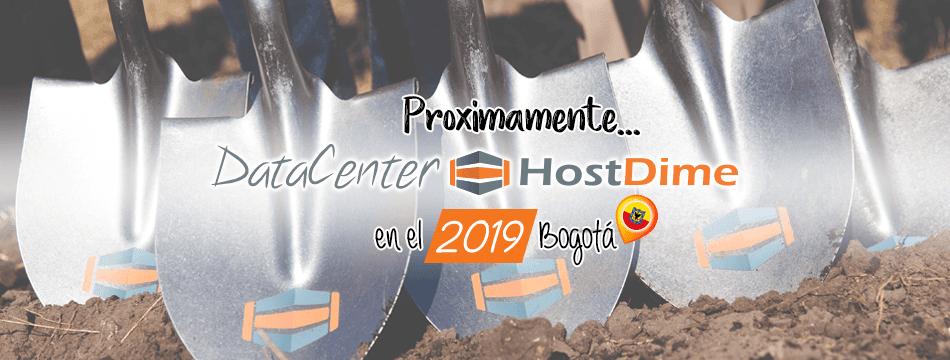 ¿Sabías que HostDime construirá un data center en Bogotá en el año venidero?