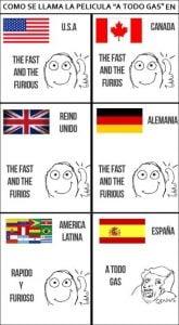 Meme rapido y furioso