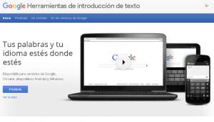 Google Input