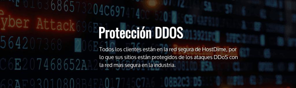 Protección DDoS HostDime