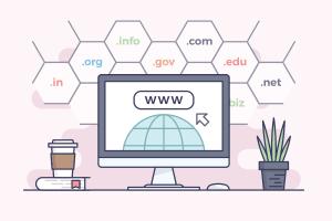 Puedes adquirir el dominio con la misma empresa de hosting